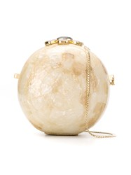 Serpui Mother Of Pearl Clutch Women Mother Of Pearl One Size Nude Neutrals