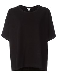 James Perse Loose Fit T Shirt Black