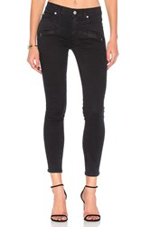 Hudson Jeans Roe Mid Rise Ankle Super Skinny Assailant