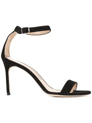 Manolo Blahnik Chaos 90 Sandals Black
