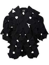 Comme Des Garcons Junya Watanabe Geometric Asymmetric Dress Black