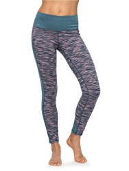 Roxy Nakkan Reversible Yoga Leggings Multi Coloured Multi Coloured