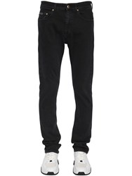 Versace Skinny Stretch Denim Jeans Black
