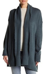 14Th And Union Long Sleeve Open Front Cardigan Blue