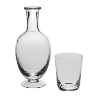 William Yeoward Quilty Carafe And Tumbler Set