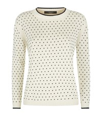 Max Mara Maxmara Weekend Polka Dot Jumper Female White