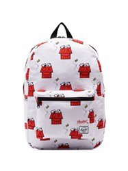 Herschel Supply Co. Snoopy Skate Backpack White