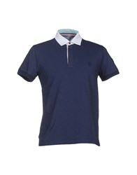 Cooperativa Pescatori Posillipo Topwear Polo Shirts Men Dark Blue
