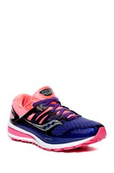 Saucony Triumph Iso 2 Running Shoe Purple