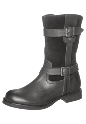 Tom Tailor Cowboy Biker Boots Black