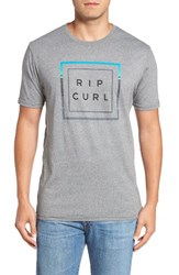 Rip Curl Men's Mf T Shirt Platinum