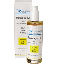 The Organic Pharmacy Mother And Baby Massage Oil 100Ml