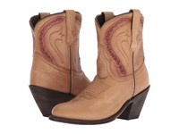 Dingo Dusty Biege Leather Cowboy Boots Beige