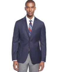 Ryan Seacrest Distinction Plaid Slim Fit Sport Coat Only At Macy's Navy