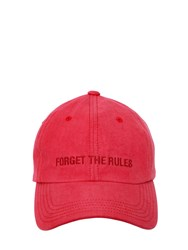 Juun.J Embroidered Cotton Canvas Baseball Hat