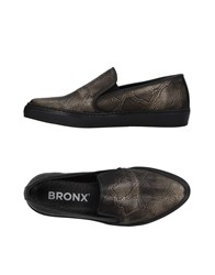 Bronx Sneakers Dark Brown