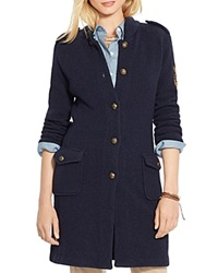 Lauren Ralph Lauren Wool Military Cardigan