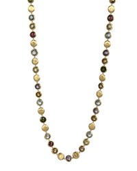 Jaipur Mixed Stone Link Necklace 30'L Marco Bicego Purple