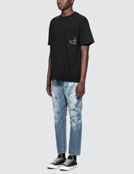 Denim By Vanquish And Fragment Icon Pocket S S T Shirt