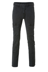 Neil Barrett Stretch Cotton Skinny Cargo Pants