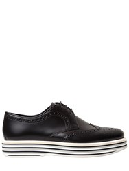 Church's 30Mm Ruby Brogue Brushed Leather Shoes