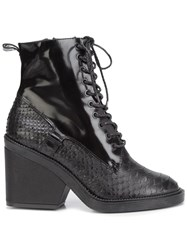 Robert Clergerie 'Bono' Boots Black