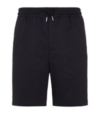 Sandro Drawstring Waist Shorts Blue