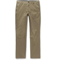 Burberry Slim Fit Cotton Twill Chinos Green