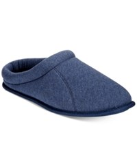 Club Room Men's Jersey Clog Slippers Only At Macy's Blue Htr