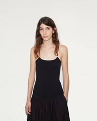 Christophe Lemaire Second Skin Tank Top Black