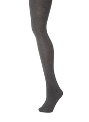 White Stuff Patty Plain Tights Charcoal