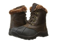 Propet Blizzard Mid Lace Ii Brown Nylon Women's Cold Weather Boots