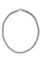 Lagos Women's Sterling Silver Caviar 7Mm Rope Necklace