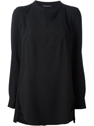 Piazza Sempione Tunic Top Black