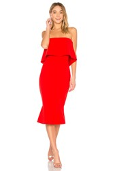 Likely Conrad Dress Red