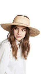Hat Attack Visor Sunhat Natural
