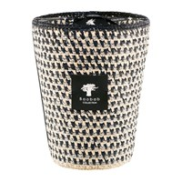 Baobab Raffia Scented Candle Limited Edition Marina Black And White Silver
