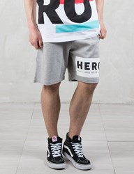 Hero's Heroine Hero Block Sweat Shorts