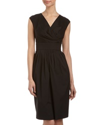 Studio 148 By Lafayette 148 New York Surplice Banded Waist Dress