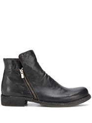Officine Creative Magnete Zipped Boots Black
