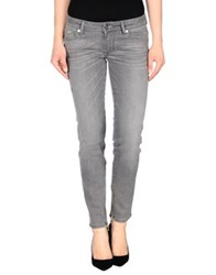 Ice Iceberg Denim Pants Grey