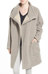 Women's James Perse Funnel Neck Coat