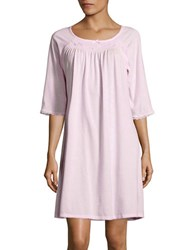 Miss Elaine Smocked Sleep Dress Pink