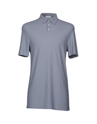 Gran Sasso Polo Shirts Grey