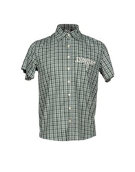 Blomor Shirts Dark Green