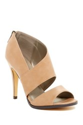 Michael Antonio Lovely Peep Toe Heel Beige