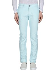 Pal Zileri Trousers Casual Trousers Men Sky Blue