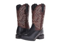 Durango Mustang 12 Western Black Brown Cowboy Boots