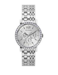 Versus By Versace Manhasset Pave Stainless Steel Bracelet Watch Sor110015 Silver