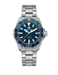 Tag Heuer Aquaracer Stainless Steel Diver Watch Way111c. Ba092 Silver